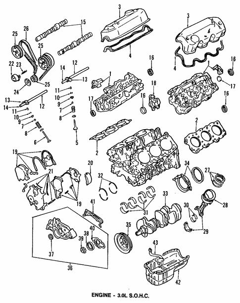 Engine For 1996 Dodge Stealth
