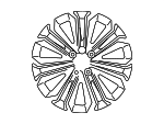 Wheel, Alloy - Toyota (42611-02F80)