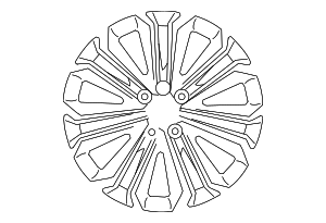 Wheel, Alloy - Toyota (42611-02L30)