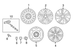 Wheel, Alloy - Toyota (42611-02M50)