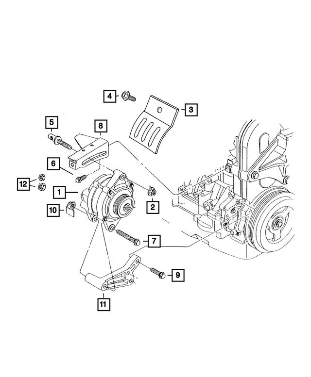 dodge neon engine parts diagram mopar engine generator 4794 222aa bam wholesale parts  mopar engine generator 4794 222aa bam