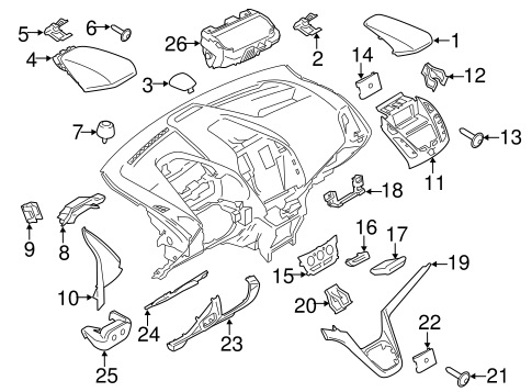 Instrument Panel Components For 2017 Ford Transit Connect