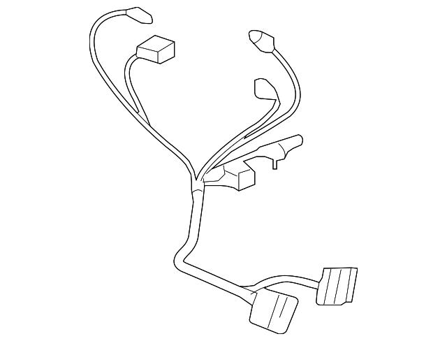 mercedes benz trailer hitch wiring harness