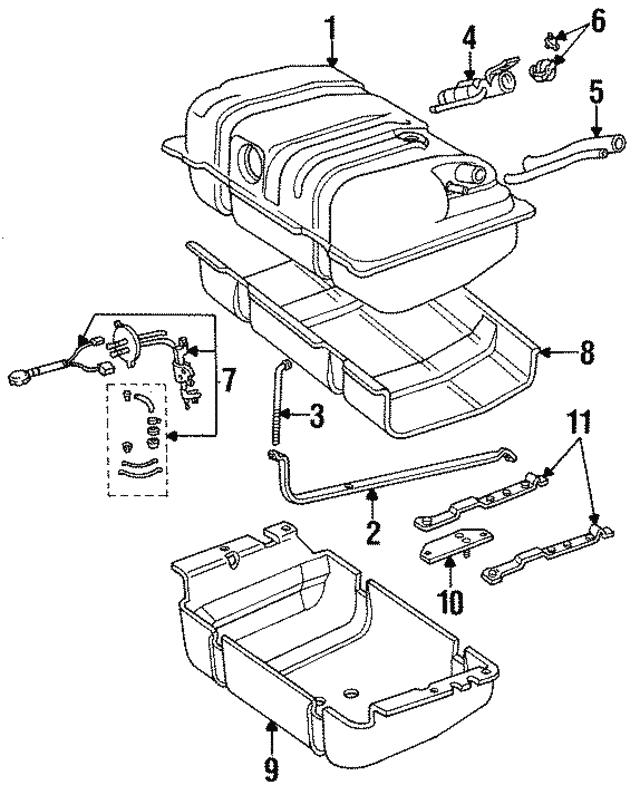 Fuel Gauge Sending Unit
