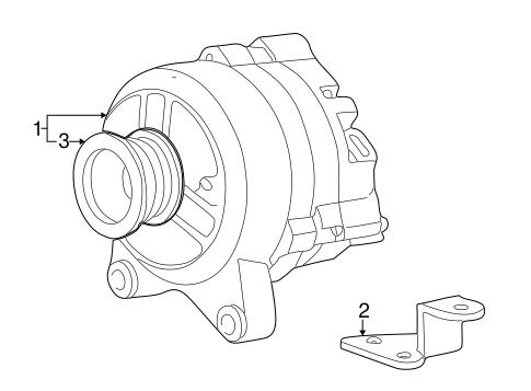 Alternator For 2001 Ford Excursion