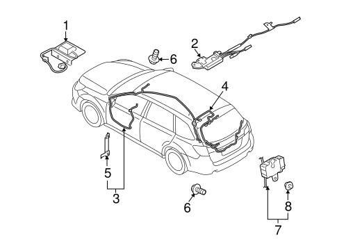 Antenna Radio For 2014 Subaru Outback