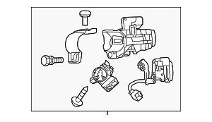 Ignition Switch - Mitsubishi (4408A136)