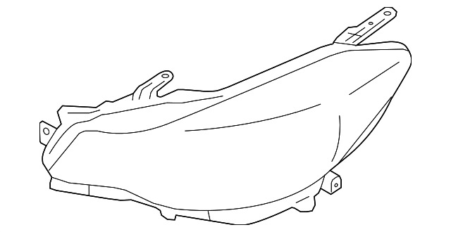 Headlamp Housing