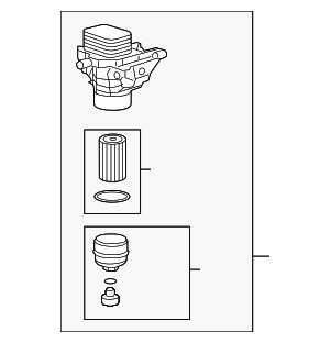Oil Filter Housing - Volkswagen (03N-115-389-A)