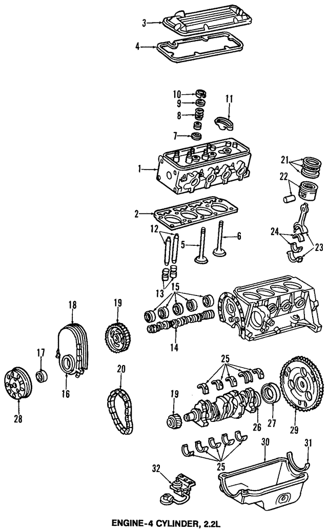 Timing Chain - GM (24577247)