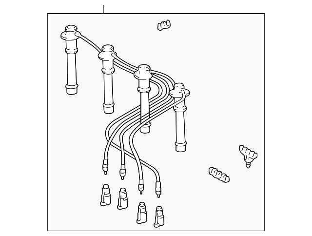 Toyota Hole Cover 8148102210 moreover Toyota Plug Wire Set 9091922387 also Toyota Rear Insulator 5521074080b0 additionally Toyota Lower Boot 4502552170 additionally Toyota Power Steering Pressure Hose 444100c011. on 02 prius ignition wires
