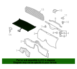 Luggage Net - Porsche (987-551-339-00)