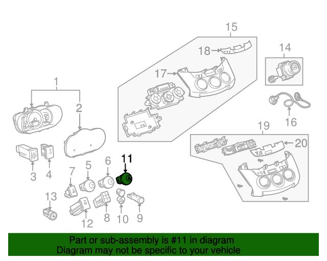 5ddb1be537e01885fd6d11087b6a39ed hazard switch toyota (84332 0r010) toyota parts