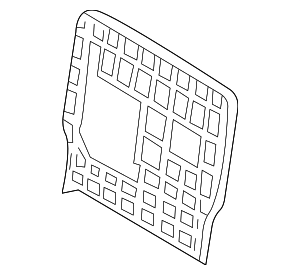 Seat Back Panel - Mercedes-Benz (163-920-06-86-7E33)