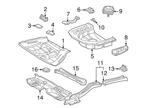 1999 lexus es300 engine diagram rear floor   rails for 1999 lexus es300 genuine lexus parts  rear floor   rails for 1999 lexus es300