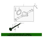 Axle Shaft - Ford (CL3Z-4234-B)