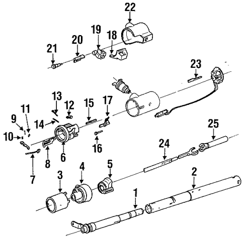 79 Corvette Door Wiring Diagram additionally Category view likewise 56459 likewise T15839605 Any way test transfer case shift motor likewise Gm Turn Wiper Switch 411525. on gm steering column repair parts