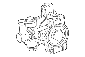 Power Steering Pump - Ford (AS4Z-3A674-ARM)