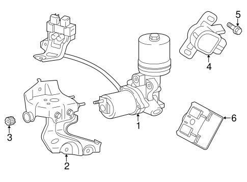 Hydraulic System For 2015 Toyota Avalon