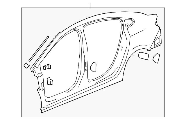 2016 2018 Chevrolet Cruze Uniside Assembly 84171964
