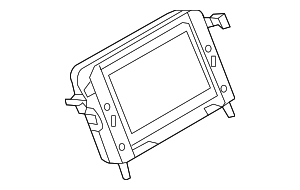 Display Unit - Land-Rover (LR077840)