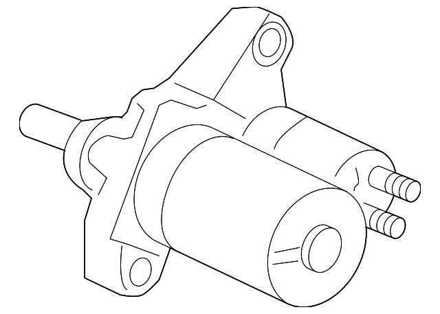 Starter Motor Assembly Sm 44242 4g Mitsuba