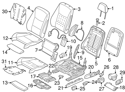 Power Seats For 2018 Bmw 320i