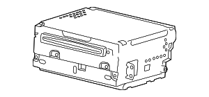Radio Control Unit - Volvo (36050651)