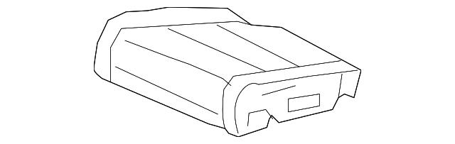 Honda Genuine 81531-SDA-A02ZA Cushion Trim Cover