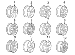 Wheel, Alloy - Volvo (30756596)