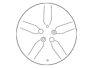 Wheel, Alloy - Toyota (42611-33D30)