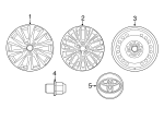 Wheel, Alloy - Toyota (42611-33C00)