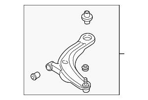 Lower Control Arm - Mazda (LC62-34-300C)