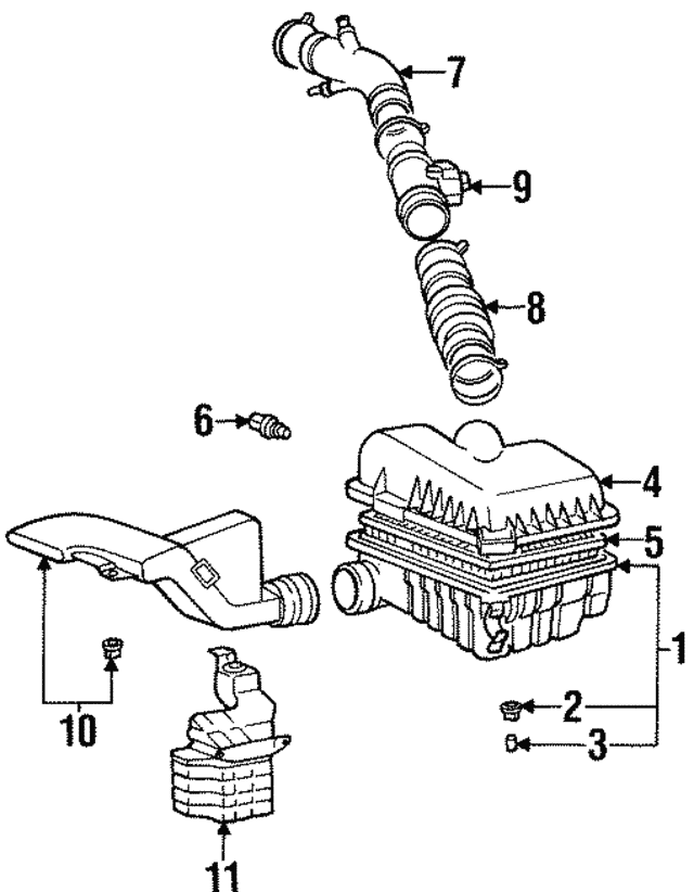 Air Intake Temp Sensor - Hyundai (39340-23000)