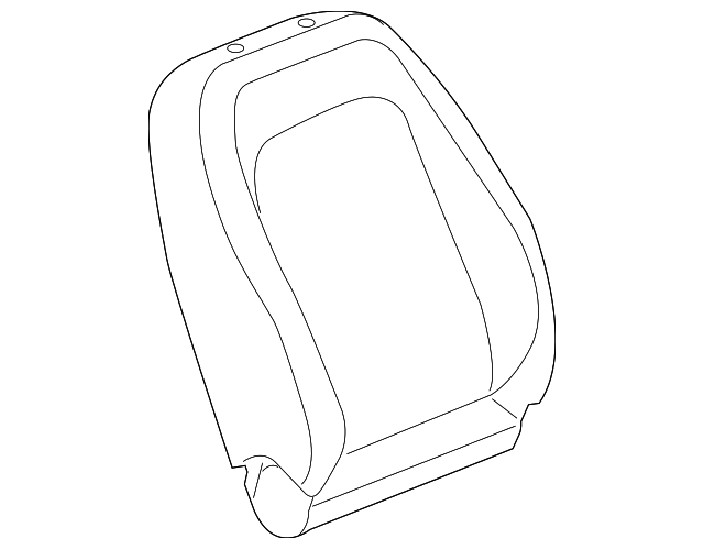 2012 2015 Chevrolet Captiva Sport Seat Back Cover 22761150