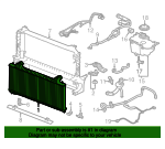Radiator - Jaguar (T4A3253)
