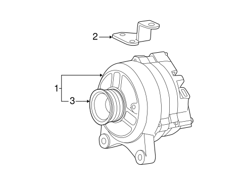 alternator for 2004 ford expedition