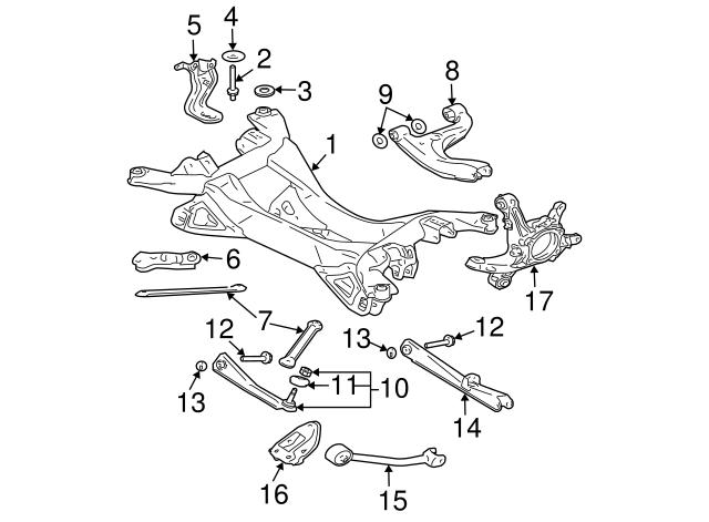 Rear Right Track Control Arm for Mitsubishi Galant