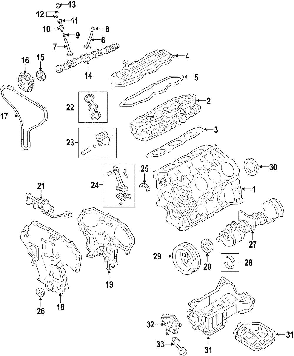 GENUINE Nissan 12207-JF03B Main Bearings//Engine Crankshaft Main Bearing