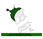 Alternator Assembly (AHGA50) (Mitsubishi) - Honda (31100-PLM-A02)