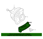 Stay, Alternator - Honda (31113-PLC-000)