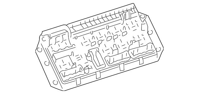 2003 range rover fuse box location