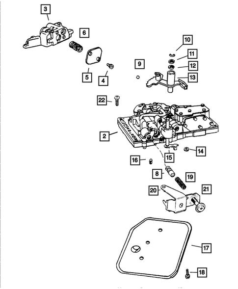 Genuine Mopar Washer-Manual Valve Lever 2538062
