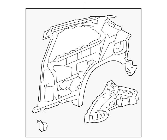 2002 2005 Honda Civic Hatchback Panel R Rear Inside 64300 S5t A01zz