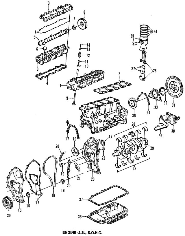 cylinder head gm 24574472 gmpartsdirect 6 Cylinder Rat Rod part can be found as reference 1 in illustration
