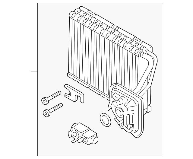 evaporator core
