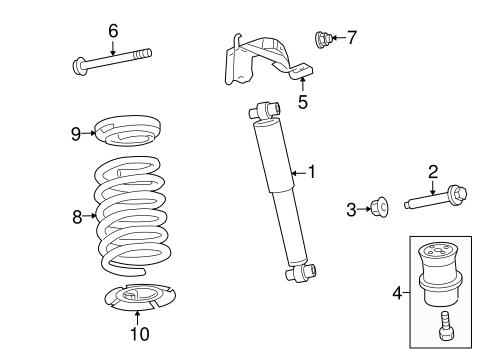 shocks  u0026 components for 2007 mercury milan