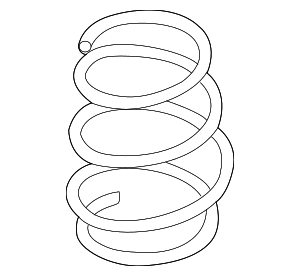 Coil Spring - Nissan (55020-9ME1A)