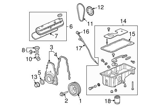 Engine Parts For 2005 Chevrolet Trailblazer Ext