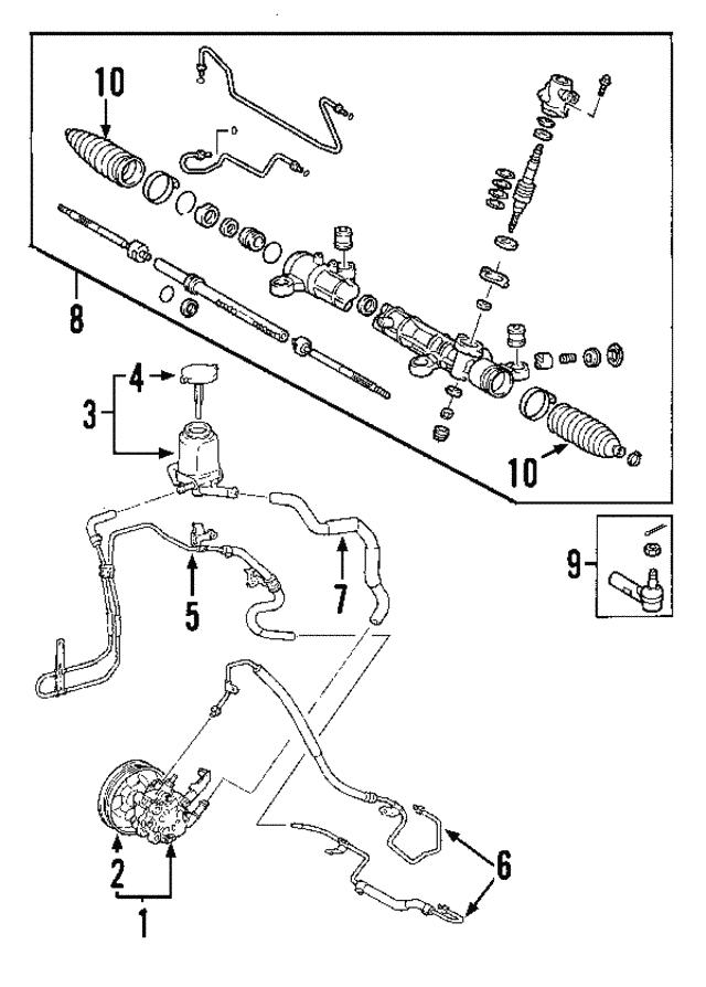 power steering pump - gm (88970127)